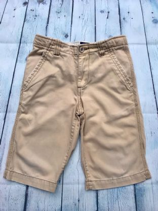 Mini Boden beige shorts with pockets (playwear condition) age 8 (fits age 7-8)
